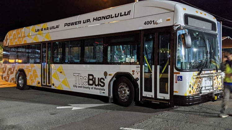 First all electric TheBus
