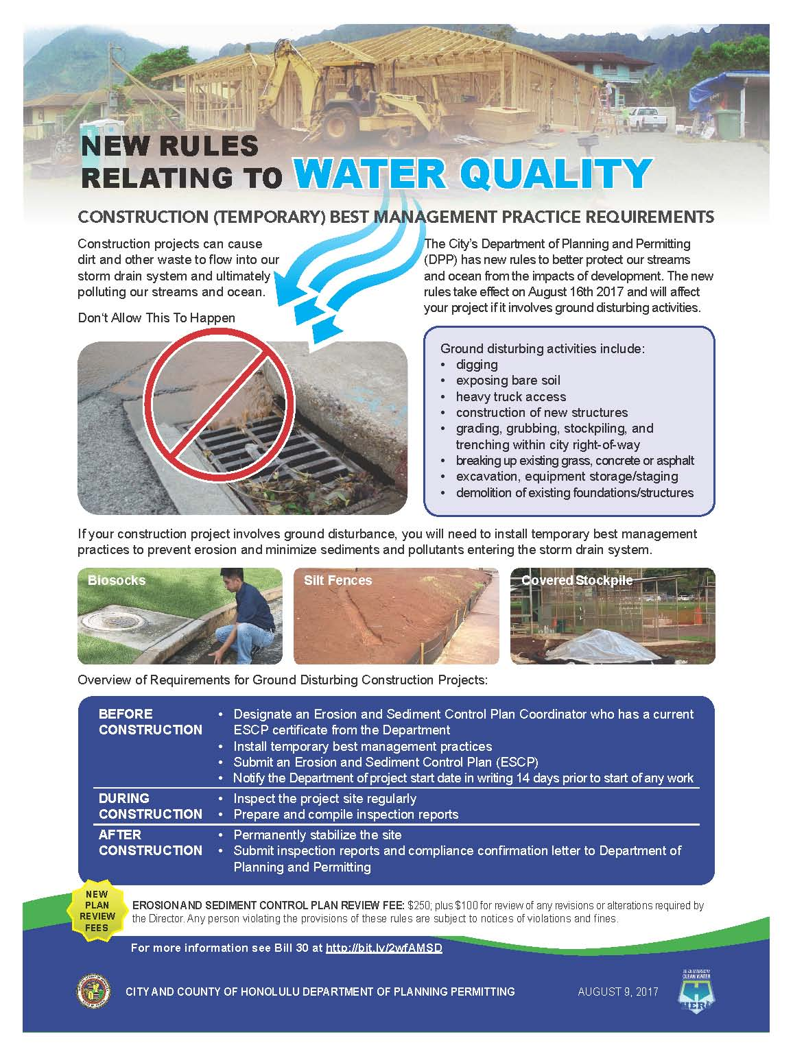 rules relating to water quality