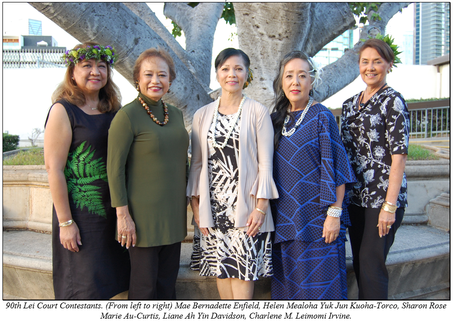 90th Lei Court Candidates for web