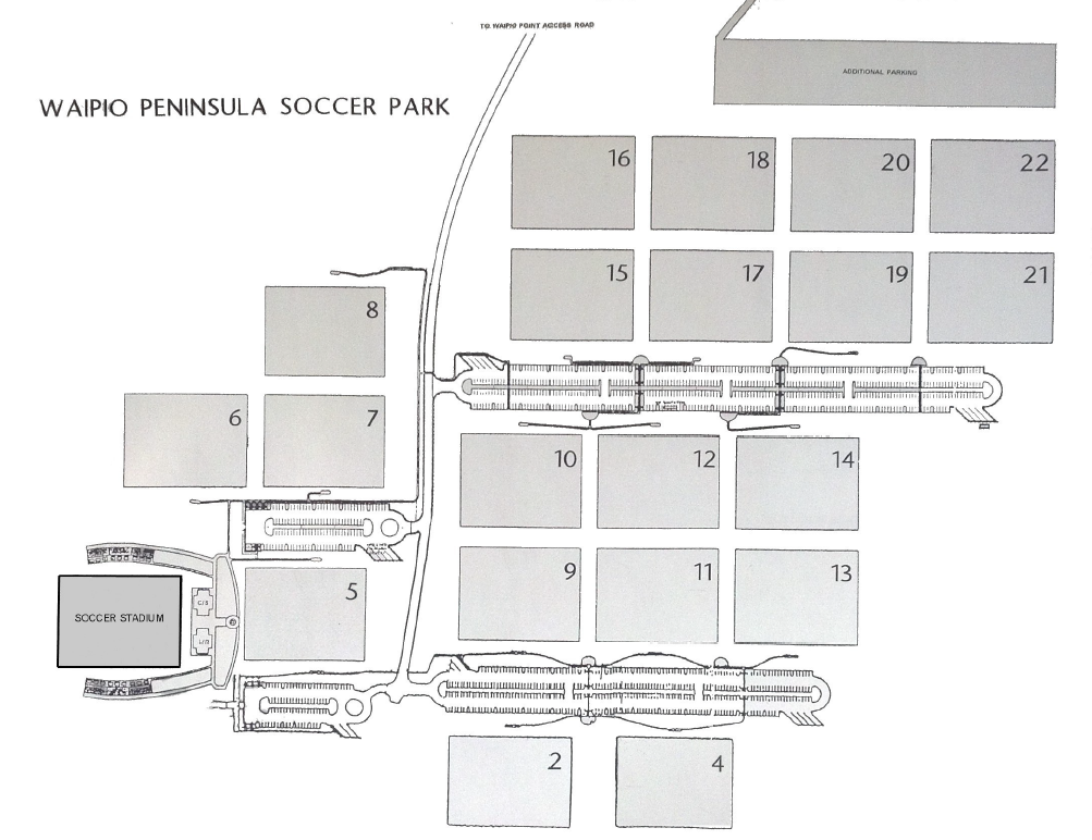 photo relating to Printable Soccer Field Layout known as Waipio Football Sophisticated