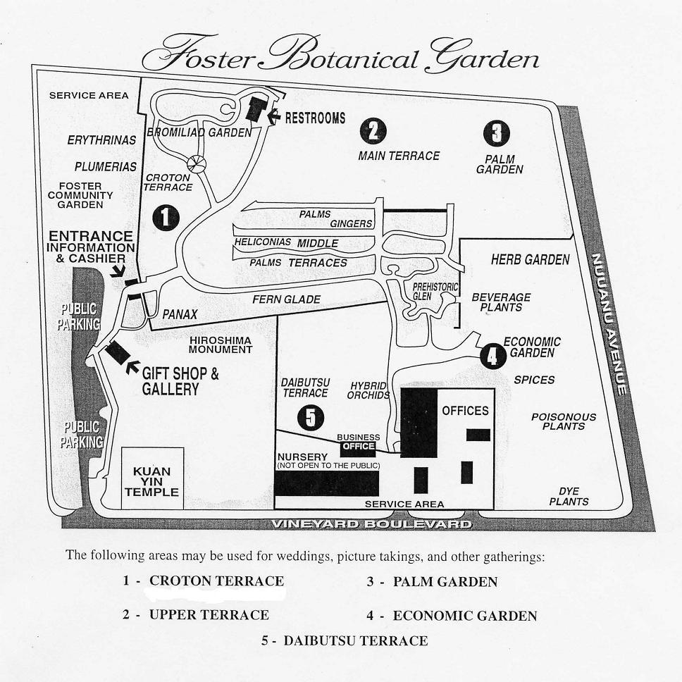 Foster Botanical Garden Weddings Get S For Wedding Venues In Hi