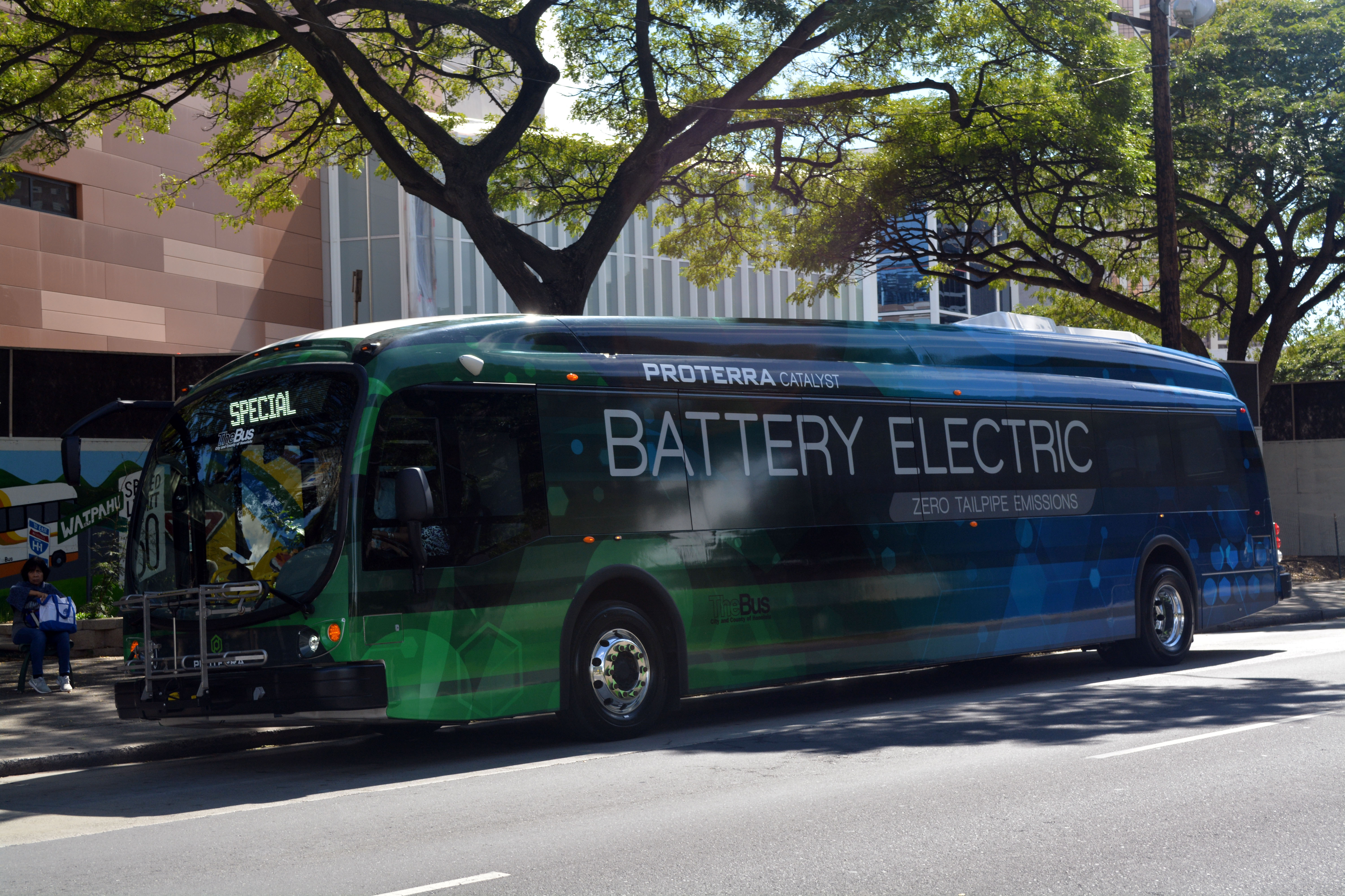 Electric Bus Completes  Planned Routes In Pilot Project